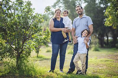 צילום משפחה בטבע - צלמת רוני ישראל