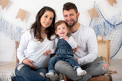 צילומי משפחה בסטודיו ברמת גן