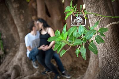 צילום הריון בטבע - צלמת רוני ישראל