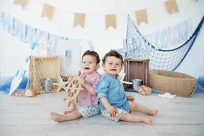 צילומי גיל שנה לתאומים -אתם שאלתם, אני עונה