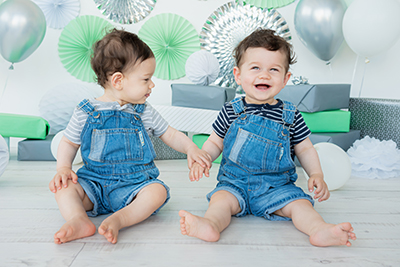 צילום תאומים גיל שנה - צלמת רוני ישראל