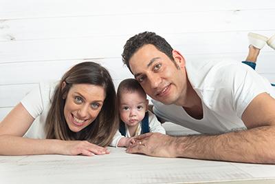 צילום משפחתי בסטודיו - צלמת רוני ישראל
