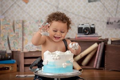 צילום סמאשקייק תינוק שמח - צלמת רוני ישראל